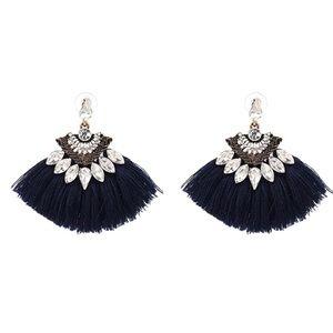 Jewelry - ❤️ Crystal Tassel Statement Earrings